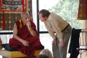 Khen Rinpoche (l) and David Gardiner (r). Courtesy BodhiMind Center.